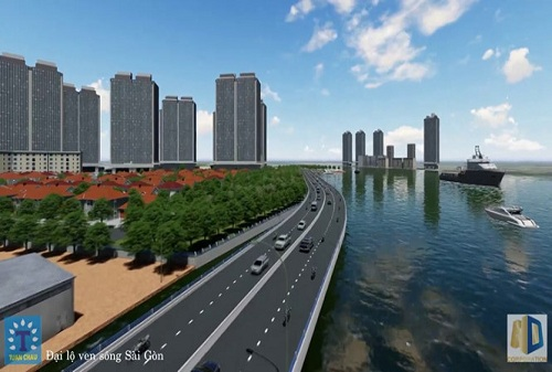 Đưa đại lộ ven sông Sài Gòn vào quy hoạch cao tốc TP.HCM - Mộc Bài
